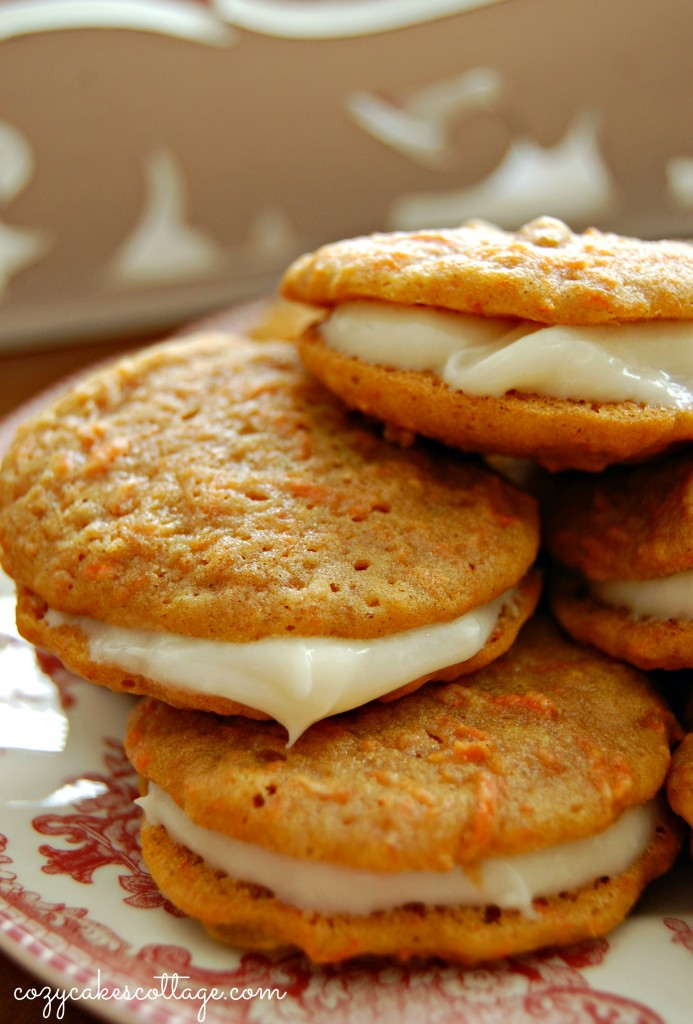 Carrot Cake Whoopie Pies: Cozycakes Cottage