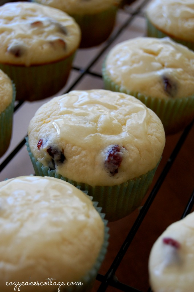 Cranberry Orange Cream Cheese Muffins: Cozycakes Cottage