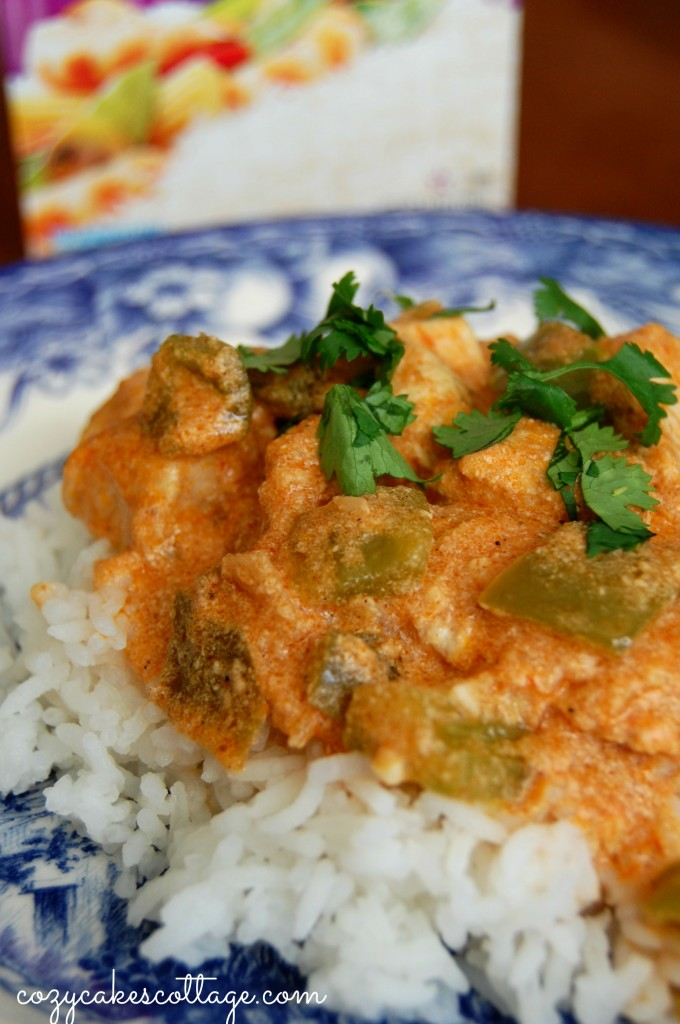 butter chicken half plate box back