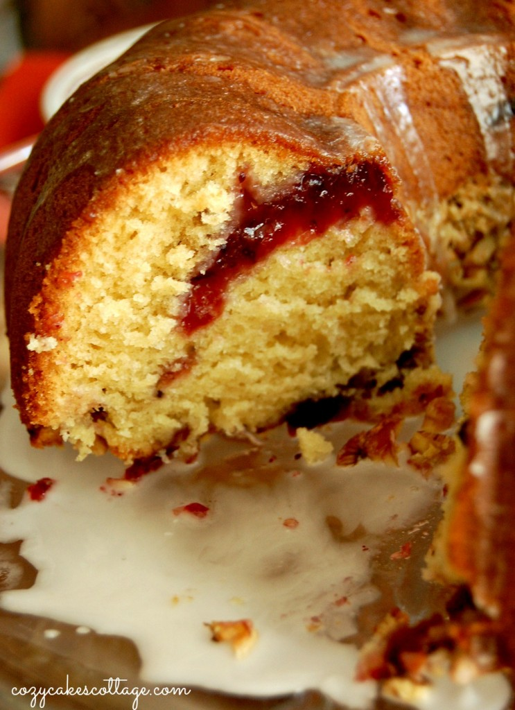 Cozycakes Cottage: Cranberry Swirl Coffee Cake