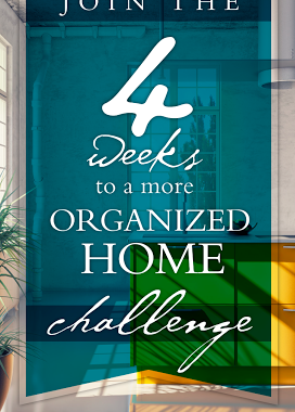 4 Weeks to a More Organized Home: The End! Day 20