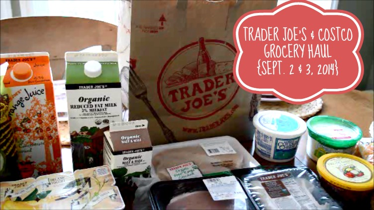 Snapshot Grocery Haul Sept 2 and 3 2014 pm