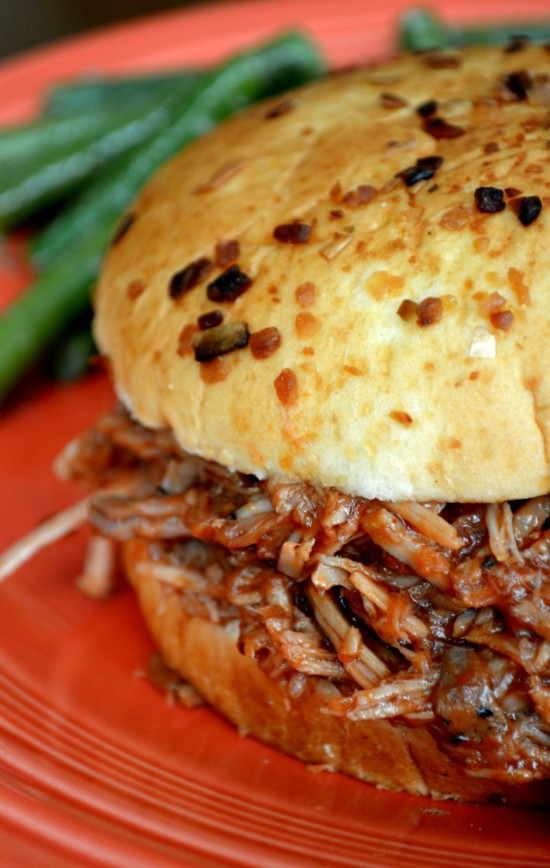 Slow Cooker Root Beer BBQ Pulled Pork   Cozycakes Cottage
