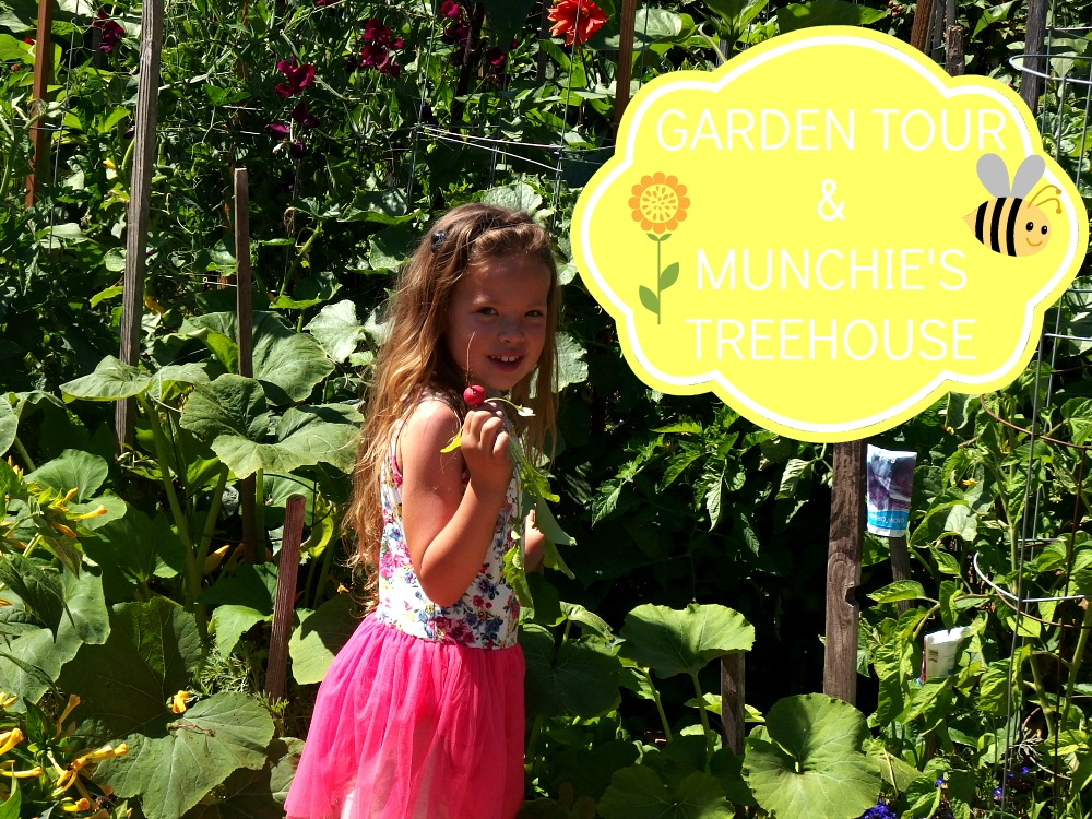 Garden Tour & Munchie's Treehous | Cozycakes Cottage