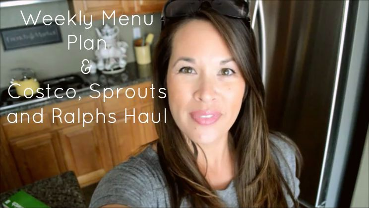 Weekly Menu Plan & Grocery Haul | Cozycakes Cottage