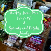 Weekly Menu Plan | Cozycakes Cottage