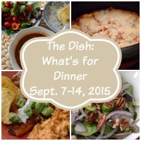 The Dish: What's for Dinner | Cozycakes Cottage