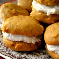 Pumpkin Sandwich Cookies | Cozycakes Cottage